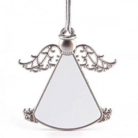 Christmas Metal Ornament Angel Design