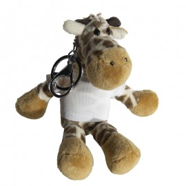 Sublimation Giraffe Key Ring with T-Shirt