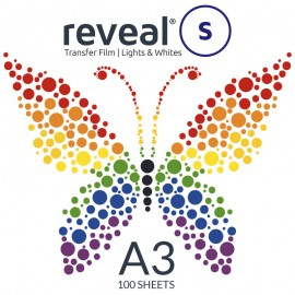 Reveal-S A3 Transfer Film x 100 Sheets