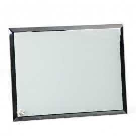 Sublimation Glass Frame with Mirrored Edge
