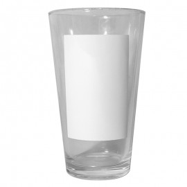Beer Glass with Patch x2