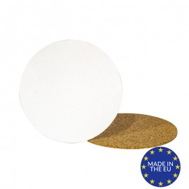 Blank round cork coasters - European (Pack of 10)