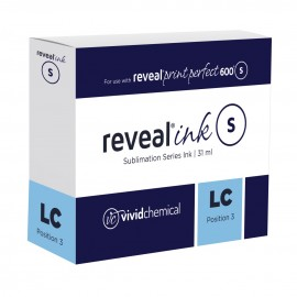 Reveal Sublimation Ink - Light Cyan P600 31ml Cartridge