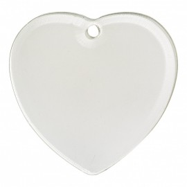 Sublimation Acrylic Decoration- Heart Shape