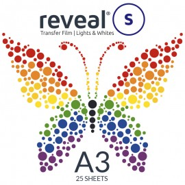 Reveal-S A3 Transfer Film x 25 Sheets