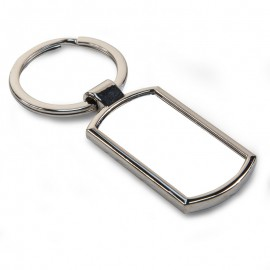 Tag Shaped Key Ring