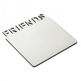 MDF Fridge Sticker - Friends